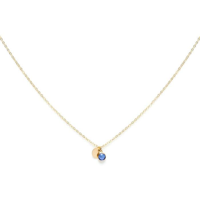 Collier sultane mini bleu Grosses Soldes PchAmmZE