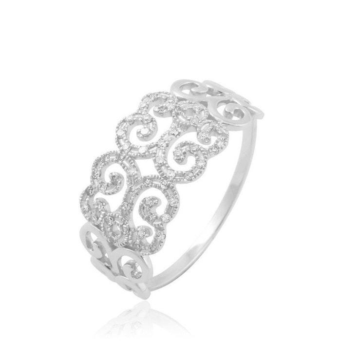 Bague or et diamant blanc Histoire D'or   La Redoute Réduction En Ligne Pas Cher E37REwiy