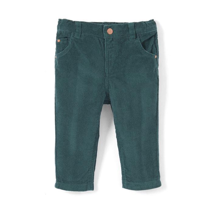 Pantalón de terciopelo 1 mes - 3 años  La Redoute Collections image 0