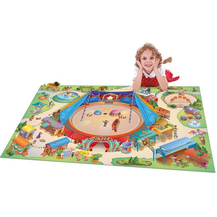 tapis connecte cirque multicolore tapis enfants 100 x 150 cm multicolore house of kids la redoute. Black Bedroom Furniture Sets. Home Design Ideas