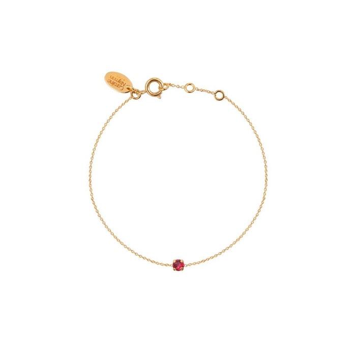 Vente Authentique Bracelet doré ruby paris rose framboise Caroline Najman | La Redoute Réduction Fiable Pas Cher Nice c55GM
