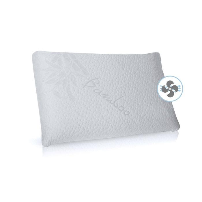 oreiller ou traversin m moire de forme bio l 39 huile de soja blanc home maison la redoute. Black Bedroom Furniture Sets. Home Design Ideas