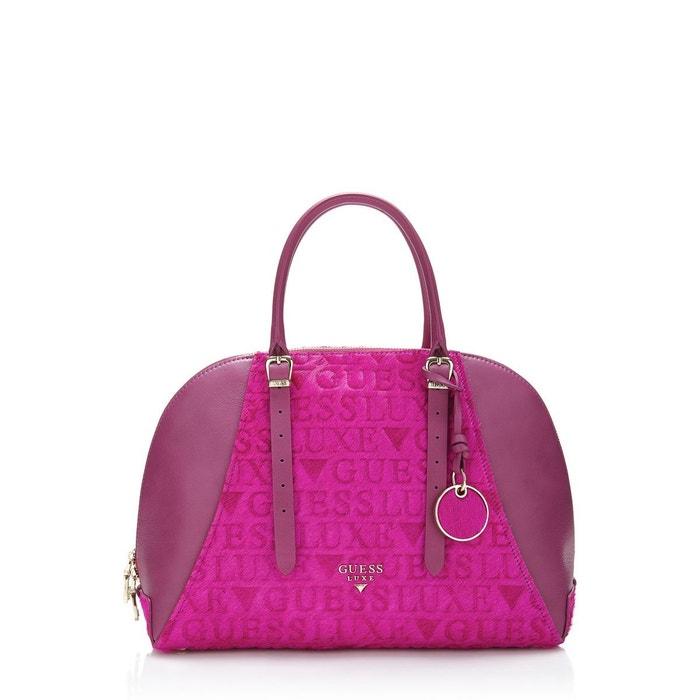 e3d122e9e5 Sac mallette lady luxe en cuir Guess | La Redoute