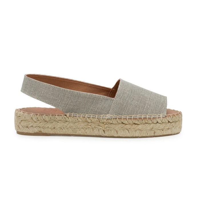Sandale lin laura gris Polka Shoes Classique Jeu Visite De Vente Pas Cher Liquidations Offres Choix La Vente En Ligne Vente De La France zajUHhwsZ