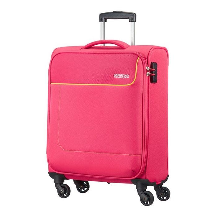 funshine valise cabine 4 roues 55cm american tourister la redoute. Black Bedroom Furniture Sets. Home Design Ideas