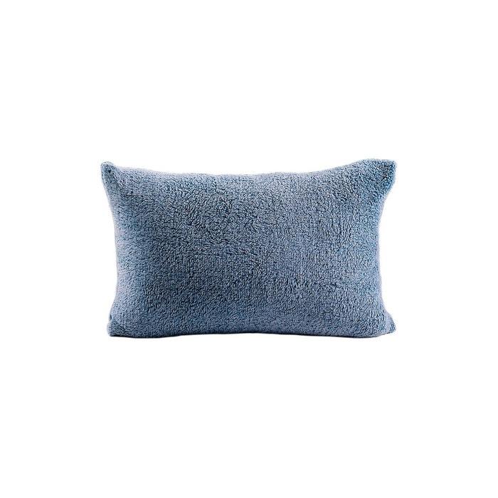coussin seraphin bleu les ateliers du linge la redoute. Black Bedroom Furniture Sets. Home Design Ideas