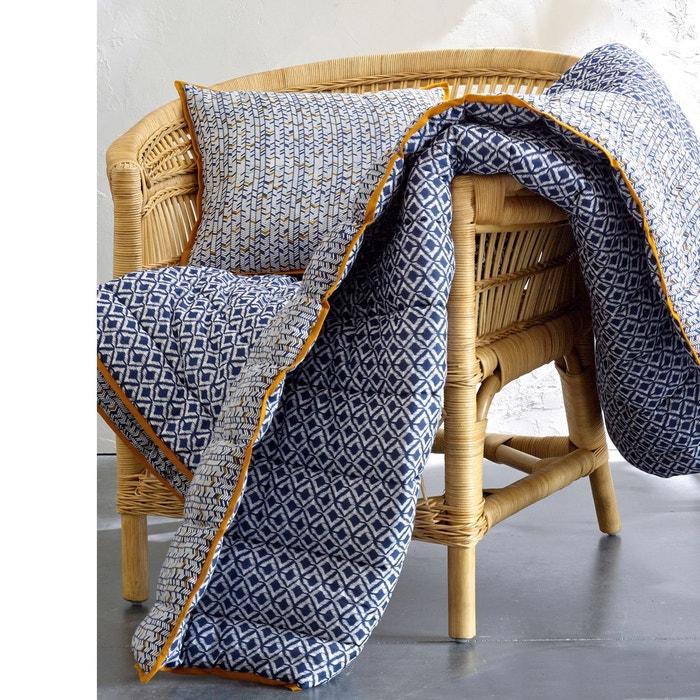 couvre lit voile de coton matelass amone la redoute interieurs la redoute. Black Bedroom Furniture Sets. Home Design Ideas