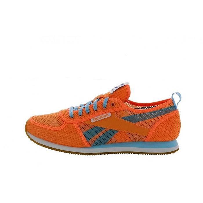 Reebok Sport Classic Jogger Orange - Chaussures Baskets basses Femme