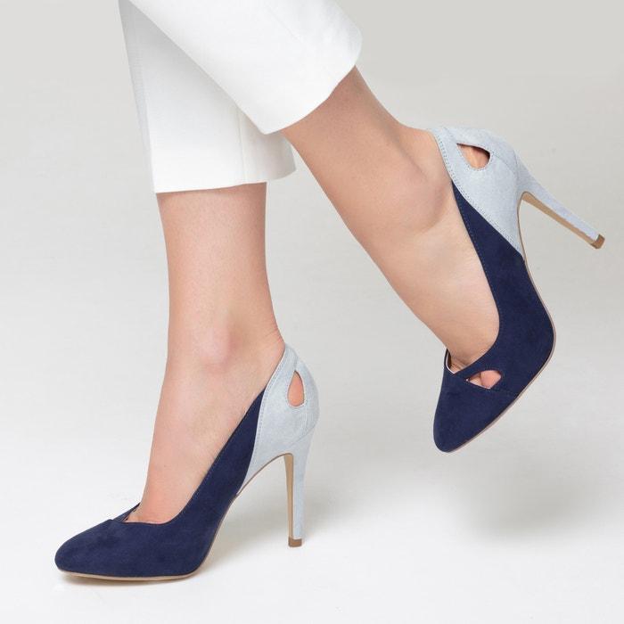 La Zapatos tac Redoute con 243;n de bicolor calados Collections vrgvnqS