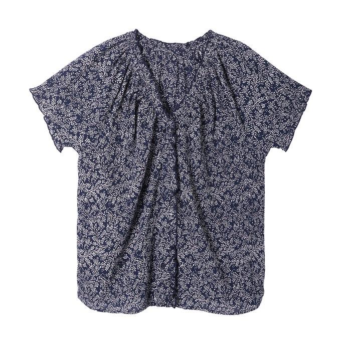 Collections Blusa y con cuello Redoute algod estampado 100 pico 243;n de La wqx6T1nf5x