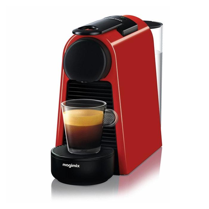 machine caf nespresso essenza mini 11366 rouge magimix la redoute. Black Bedroom Furniture Sets. Home Design Ideas