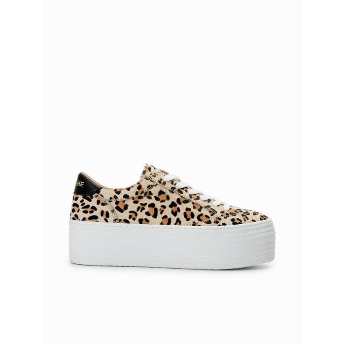 Sneakers leopard   La Redoute