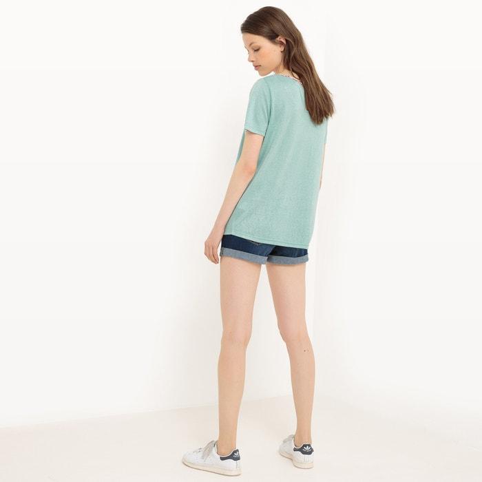 WOMAN cuentas LPB con manga escote corta Camiseta de S1Tq4w