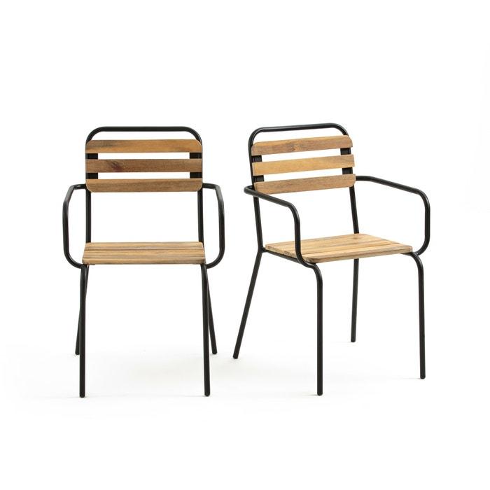 Set van 2 fauteuils voor in de tuin  Juragley  LA REDOUTE INTERIEURS image 0