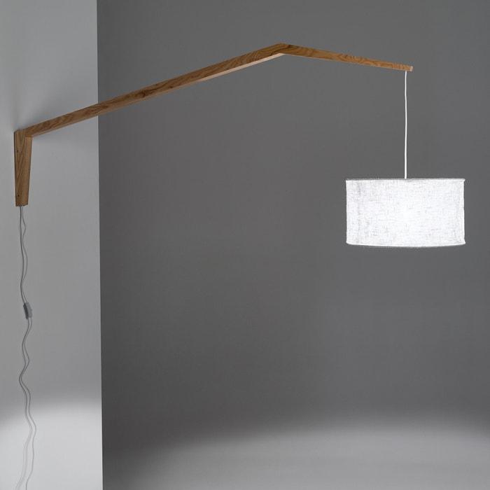 afbeelding Wandlamp, es en linnen, Setto La Redoute Interieurs