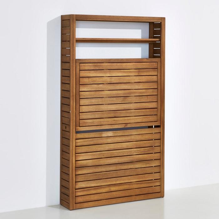 Image Table de balcon pliable en acacia huilé FSC La Redoute Interieurs