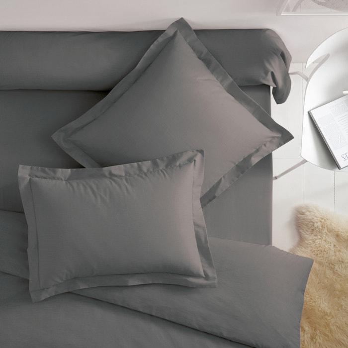 Image Taies d'oreiller coton à volant plat SCENARIO