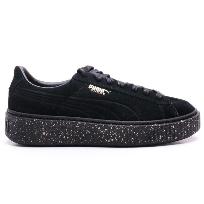 Chaussures platform specled noir noir Puma