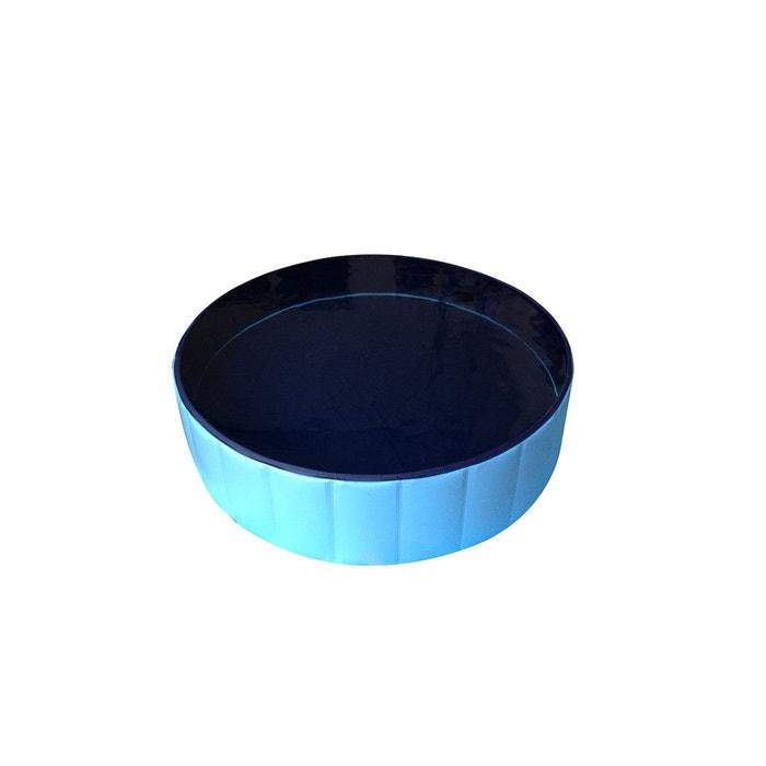 Bassin piscine pour chien pliable anti g lissant for Piscine en plastique
