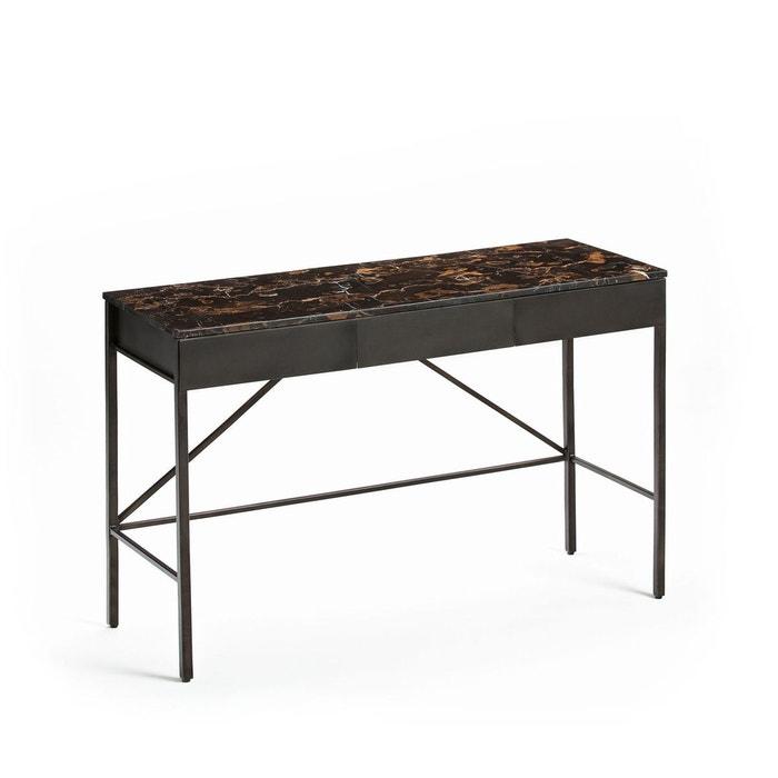 bureau console plateau marbre ambr f b e marbre ambr am pm la redoute. Black Bedroom Furniture Sets. Home Design Ideas