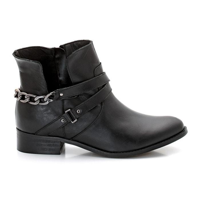 Image Boots cuir CASTALUNA