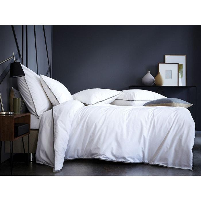 housse de couette grise et blanche matt u rose esprit scandinave housse de couette coton. Black Bedroom Furniture Sets. Home Design Ideas