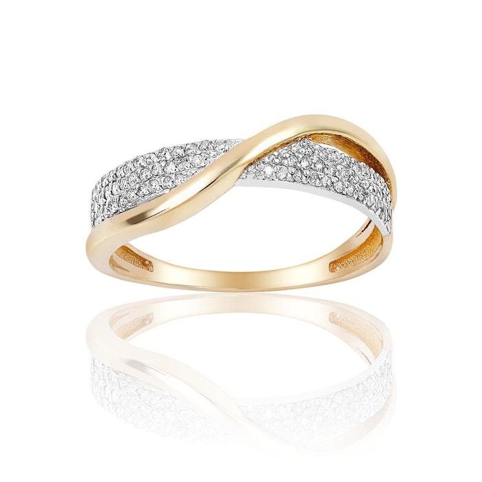Bague or 375/1000 diamant blanc Cleor | La Redoute Prix De Liquidation Livraison Gratuite Prix Le Plus Bas Coût De Dédouanement De La France En Ligne Meilleur Endroit wbILgxkIvf