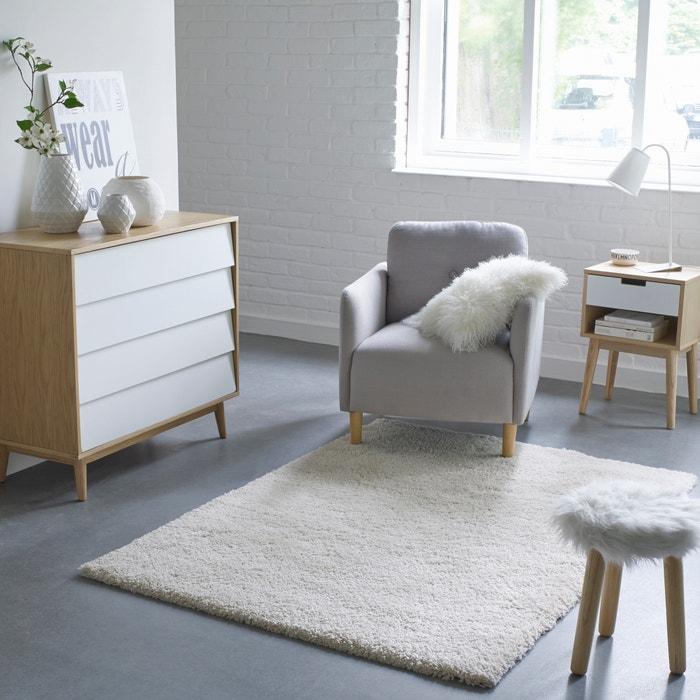 Tapete shaggy XL, aspeto lã, Afaw La Redoute Interieurs