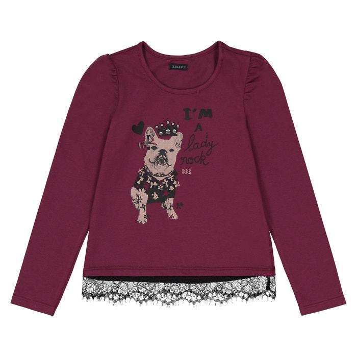 T-shirt, hond met kant  IKKS JUNIOR image 0