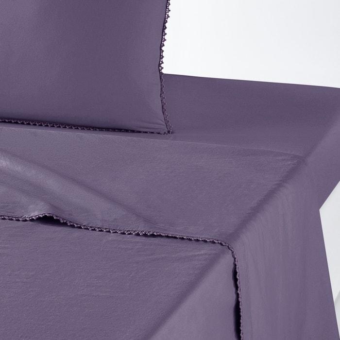 Imagen de Sábana de percal de algodón lavado AMEY La Redoute Interieurs