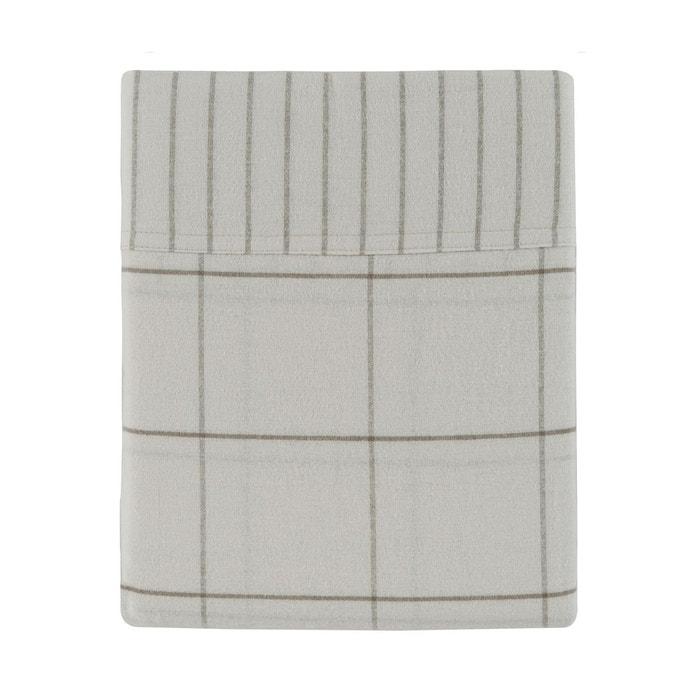 drap plat gentlewoman flanelle de coton ivoire ivoire. Black Bedroom Furniture Sets. Home Design Ideas
