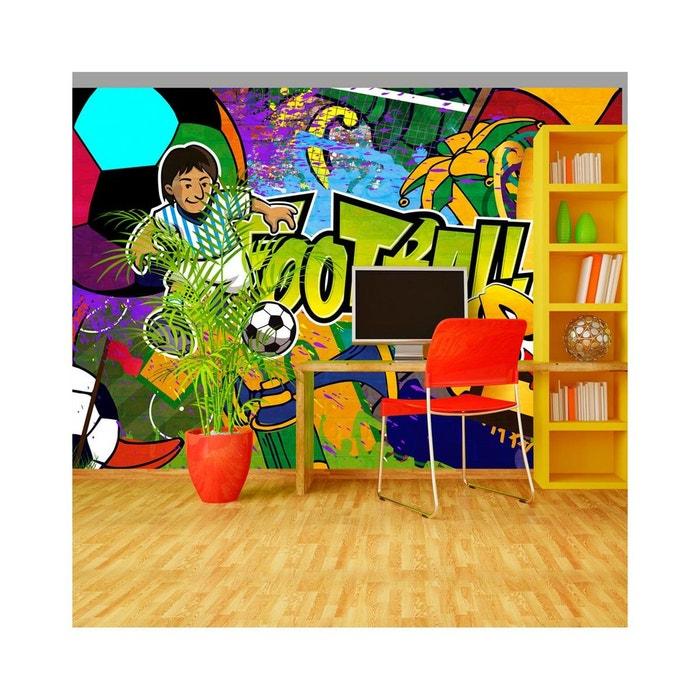 Papier Peint Football Cup Dimension 350x245 Recollection La