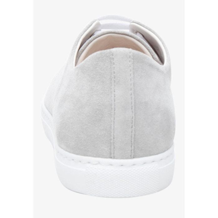 Sneaker velours en gris gris Shoepassion