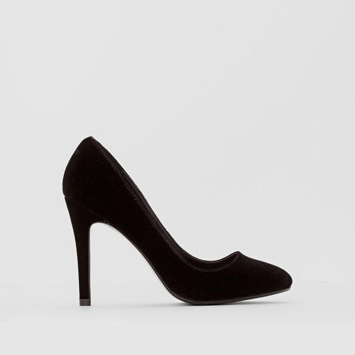 Imagen de Zapatos de tacón de terciopelo La Redoute Collections