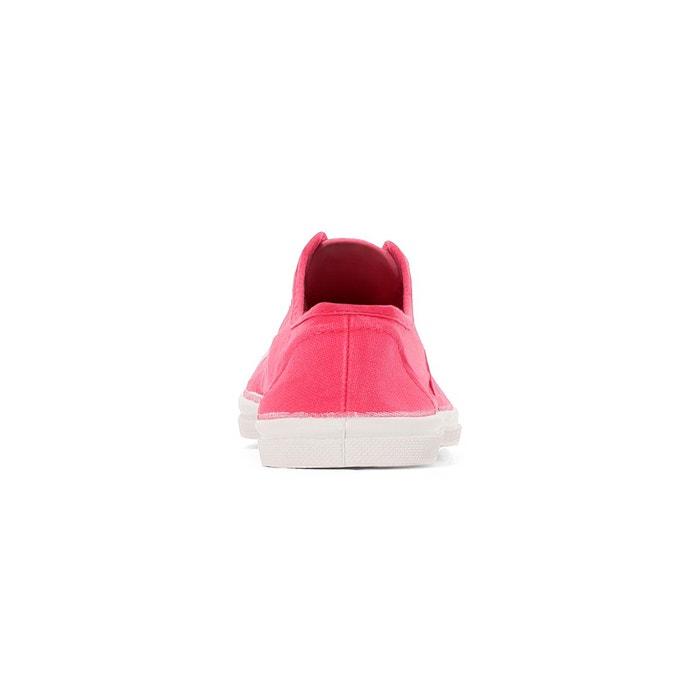 Baskets basique lacets rose Bensimon