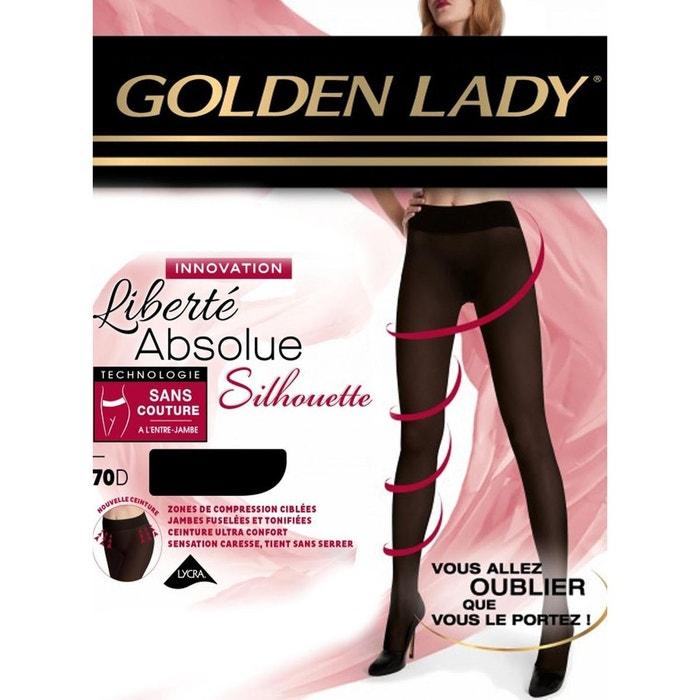Collant golden lady liberté absolue silhouette 70d noir Golden Lady ... faf28ff1a03