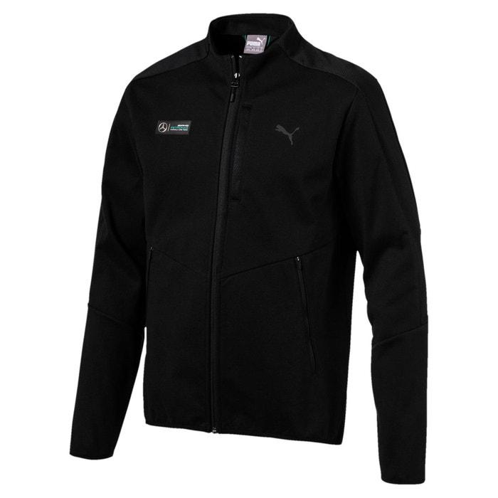 puma mercedes amg petronas t7 sweat jacket veste type sport homme noir puma la redoute. Black Bedroom Furniture Sets. Home Design Ideas