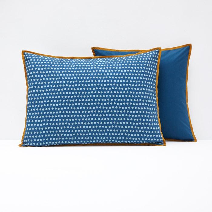 Duo Single Cushion Cover or Pillowcase  La Redoute Interieurs image 0
