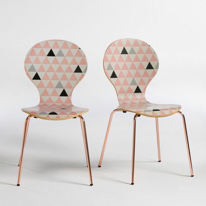 Chaise , imprimée, Elori (lot de 2)  La Redoute Interieurs image 0