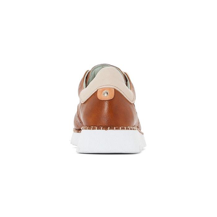Baskets cuir vera w4l marron Pikolinos