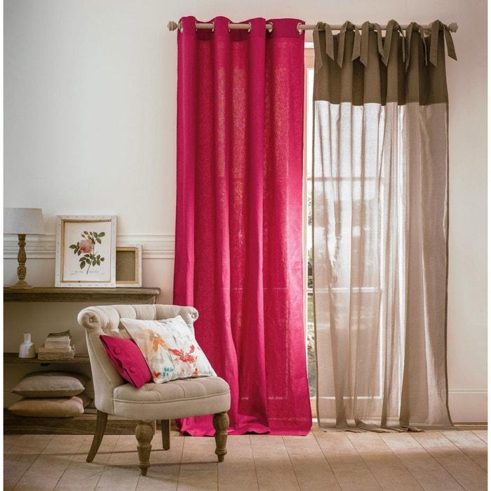 voilage la redoute finest simple la redoute interieurs voilage galon fronceur sylva with la. Black Bedroom Furniture Sets. Home Design Ideas