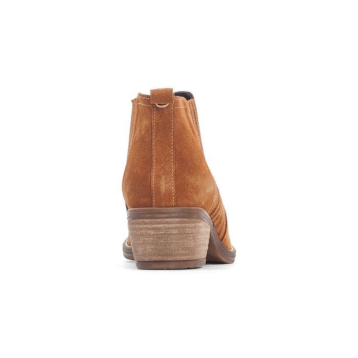 Boots ltc tucson cognac Le Temps Des Cerises