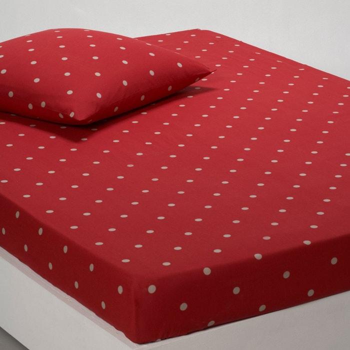 Image Drap-housse pur coton, EDELWEISS La Redoute Interieurs