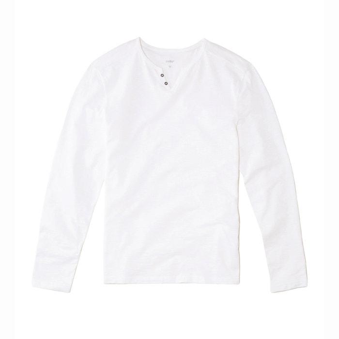 Image ABELONG Long-Sleeved V-Neck T-Shirt CELIO