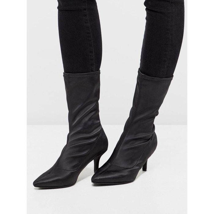 Bottes chaussette black Bianco Grande Remise En Ligne iRZeatm