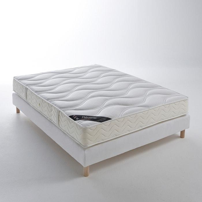 matelas mousse m moire de forme trait non feu haut 19 cm reverie hotel blanc la redoute. Black Bedroom Furniture Sets. Home Design Ideas