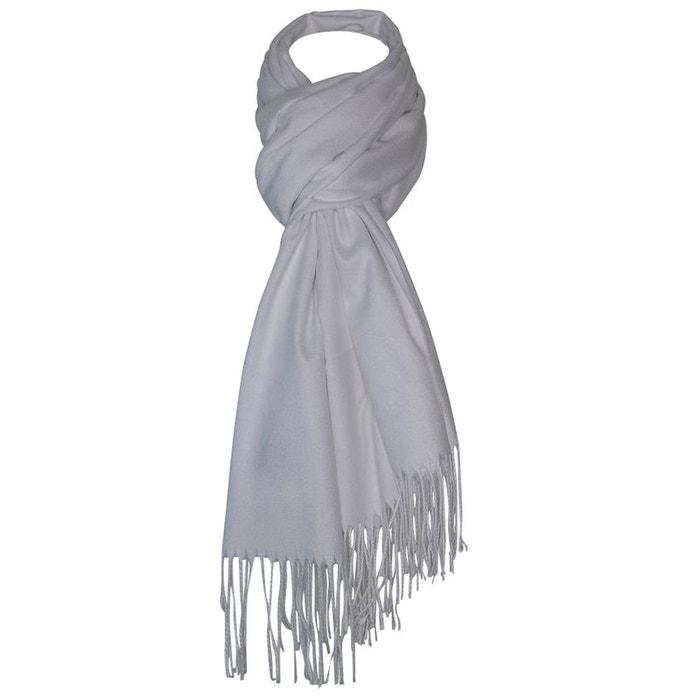 Echarpe cachemire blanc Chapeau-Tendance   La Redoute 6011621b7f5