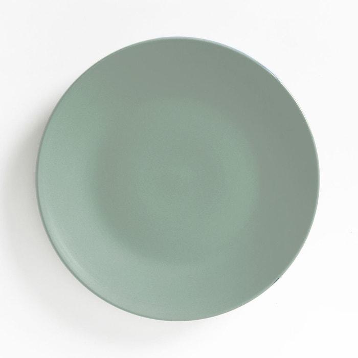 lot 4 assiettes plates fa ence mat melya la redoute interieurs la redoute. Black Bedroom Furniture Sets. Home Design Ideas
