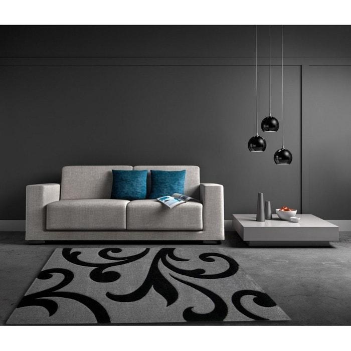 Tapis en polypropyl ne de salon gris mirror gris allotapis la redoute - La redoute tapis salon ...