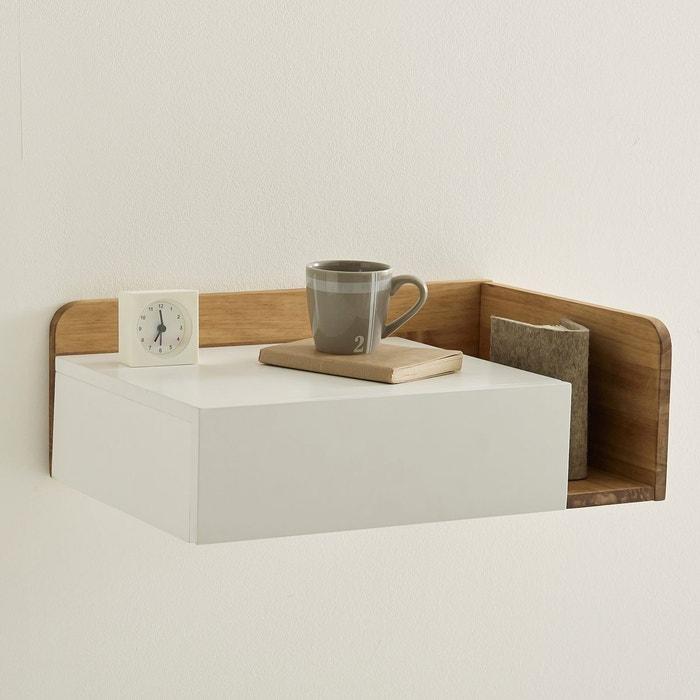 Chevet suspendre c t gauche jimi blanc bois la redoute interieurs la r - Chevet tiroir a suspendre ...
